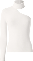Exclusive for Intermix Farrah One Shoulder Choker Neck Top