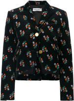 Sonia Rykiel floral print peplum jacket