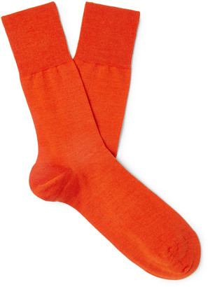 Falke Airport City Virgin Wool-Blend Socks