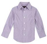 Class Club 2T-7 Micro-Striped Spread Collar Dress Shirt