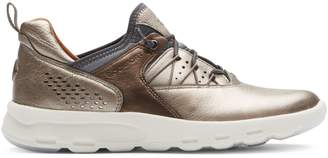 Rockport Let's Walk Bungee Leather Sneakers