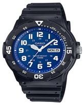 Casio Men's Dive Style Watch, Black/Blue - MRW200H-2B2VCF