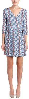 Tart Collections Women's Isabella Surplice Wrap Printed Dress