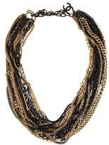 Chanel CC Multi Strand Necklace