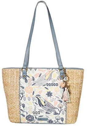 Sakroots Artist Circle Medium Satchel (Multi Peace Birds) Satchel Handbags