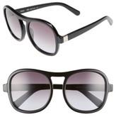 Chloé Women's Marlow 56Mm Gradient Lens Sunglasses - Black