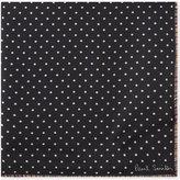 Paul Smith Polka dot artist stripe silk pocket square