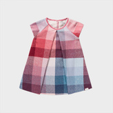 Paul Smith Baby Girls' Wool-Blend Pastel-Check 'Marabel' Dress