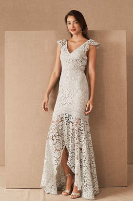 ML Monique Lhuillier Louetta Wedding Guest Dress