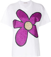 Christopher Kane glitter flower T-shirt