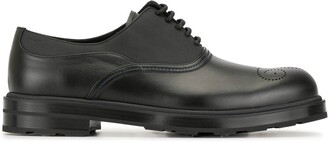 Bally Low Heel Oxford Shoes