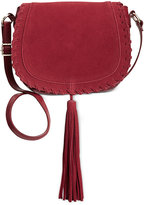 INC International Concepts Willow Saddle Tassel Bag, Only at Macy's
