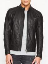 BELSTAFF V Racer Leather Biker Jacket