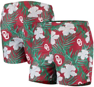 Men's Crimson Oklahoma Sooners Swimming Trunks