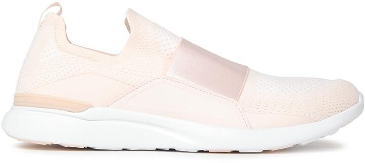 APL Athletic Propulsion Labs Techloom Bliss Melange Mesh And Neoprene Slip-on Sneakers