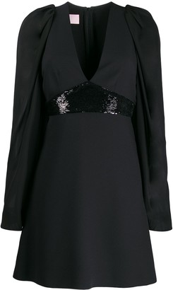 Giamba empire line mini dress