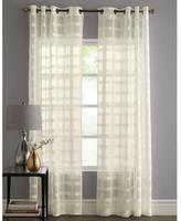 Laura Ashley Bridgewell' 2-Pack Semi-Sheer Grommet Panels - Curtain