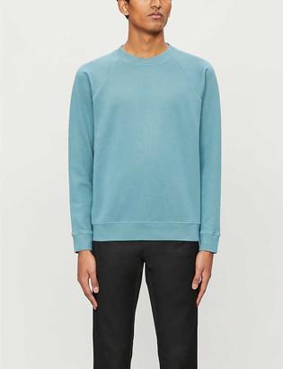 Sandro Crewneck cotton-blend sweatshirt
