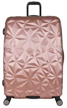 Aimee Kestenberg Luggage Geo Molded 28-Inch Checked Hard Shell Luggage