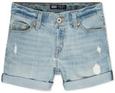 Levi's Denim Boyfriend Shorts, Big Girls (7-16)