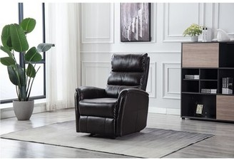 Latitude Run Faux Leather Manual Wall Hugger Recliner
