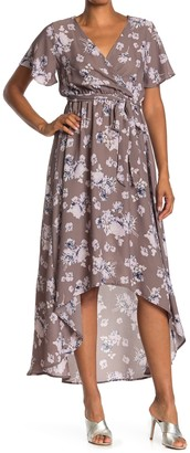 WEST KEI Woven Hi-Lo Dress
