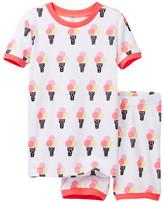 Petit Lem Ice Cream Social Pajama - 2-Piece Set (Toddler & Little Girls)