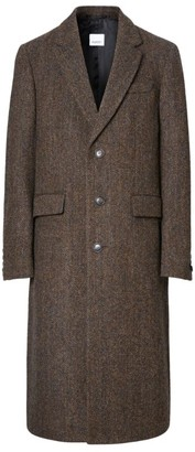 Burberry Wool Herringbone Coat