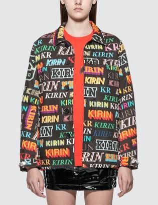 Kirin Typo Field Denim Jacket