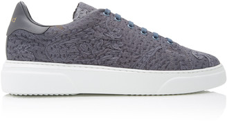 By Walid Antique Lace Low-Top Sneakers