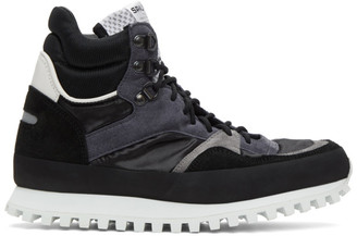 Spalwart Black Marathon Snow Sneakers