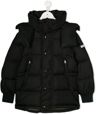 Moncler Enfant Hooded Padded Coat