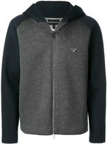 Emporio Armani long sleeved hoodie