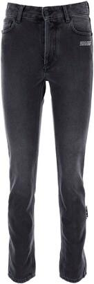 Off-White Straight Leg Denim Jeans