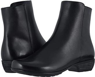 Walking Cradles Elsie (Black Leather) Women's Shoes