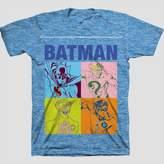 DC Comics Boys' Batman Short Sleeve T-Shirt - Azure