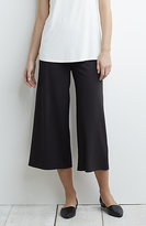 J. Jill Wearever Smooth-Fit Wide-Leg Cropped Pants