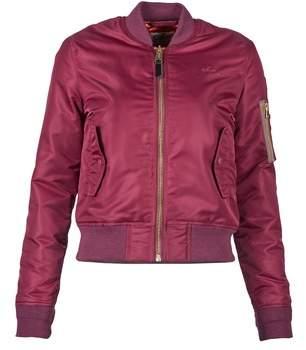 Schott BOMBER BY women's Jacket in Red