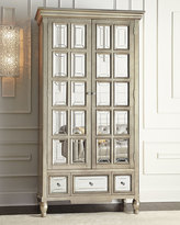 Horchow Brielle Mirrored Cabinet