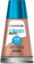 Cover Girl Clean Matte Liquid Foundation Medium Light 30 mL