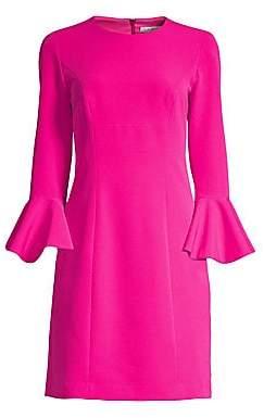 Trina Turk Women's Jazzy Panache Bell-Sleeve Sheath Dress - Size 0