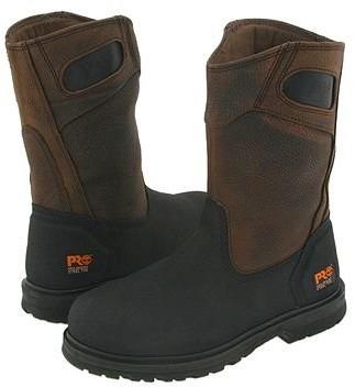 Timberland Power Welt Wellington Steel Toe (Rancher Brown Oiled Full-Grain Leather) Men's Work Boots