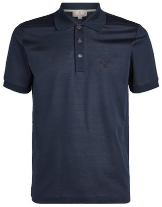 Canali Logo Polo Shirt