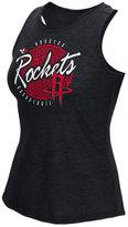 adidas Women's Houston Rockets Well-Rounded Rhinestone Tank