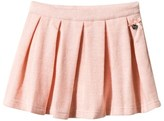 Le Chic Pink Brushed Jersey Glitter Skirt