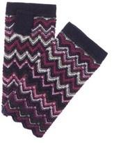 Forte Cashmere Forte Women's Cashmere Zig Zag Gloves.