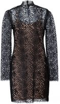 Alexander Wang lace mini dress - women - Cotton/Nylon/Rayon - 4