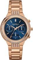 CARAVELLE NEW YORK Women's 44L181 Analog Display Quartz Rose Gold Watch