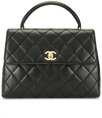 Chanel Pre Owned 1998 Diamond Quilted Flap Tote