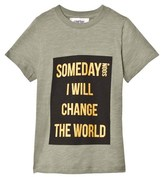 Someday Soon Someday T-shirt Green